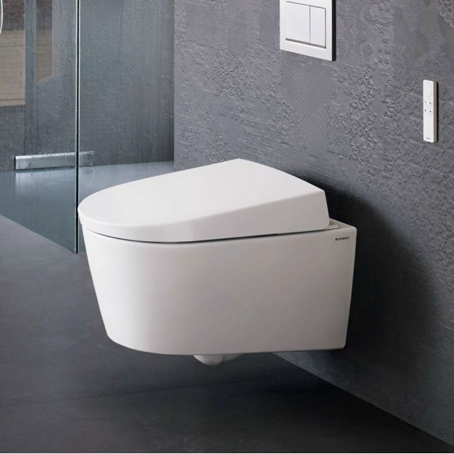 geberit aquaclean sela shower toilet uk bathrooms. Black Bedroom Furniture Sets. Home Design Ideas