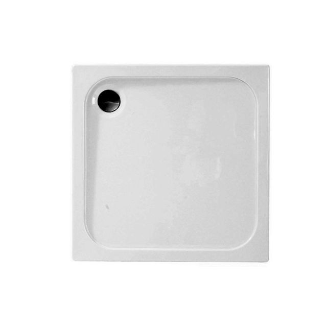 Merlyn MStone 50mm Low Profile Square Shower Tray