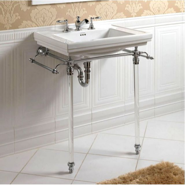 Imperial Hardwick Stand with Astoria Deco Basin
