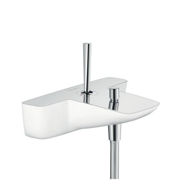 hansgrohe puravida exposed bath shower mixer uk bathrooms