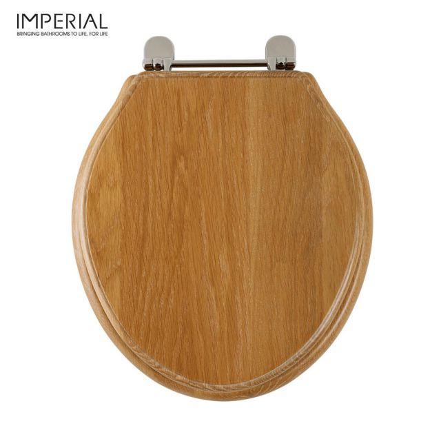 Imperial Astoria Deco Oval Toilet Seat