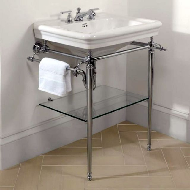 Imperial Etoile Vergennes Basin stand with Etoile Large Basin