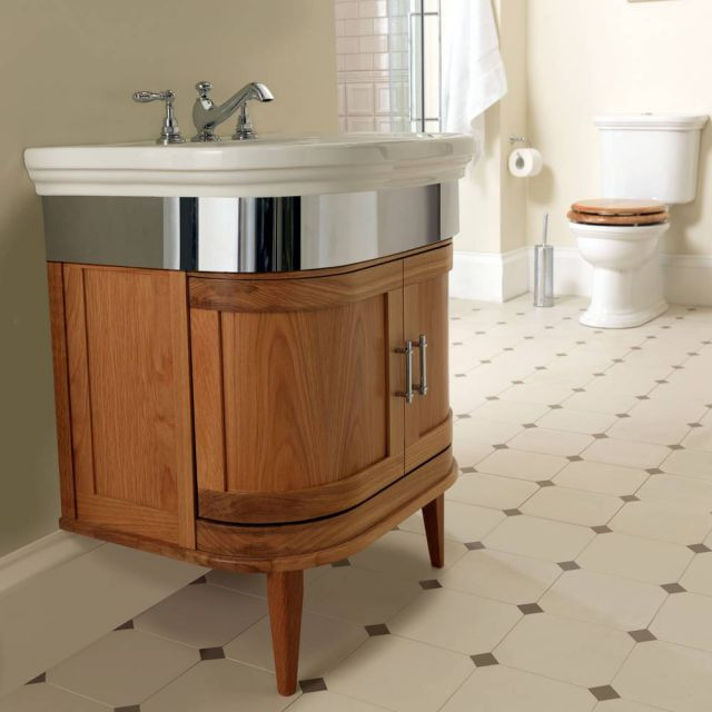 Imperial Carlyon Thurlestone Vanity Unit with Basin