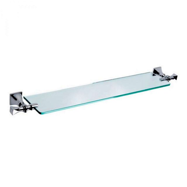 Imperial Highgate 750mm Wall Mounted Glass Shelf