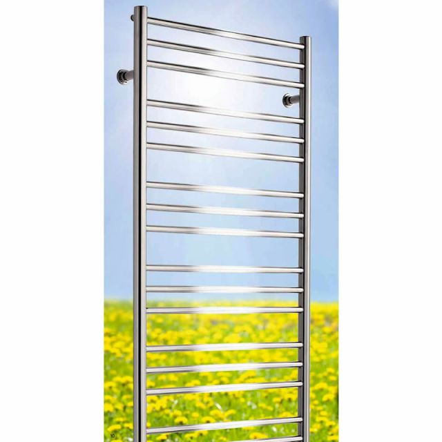 Mere Tarporley Polished Stainless Steel Radiator