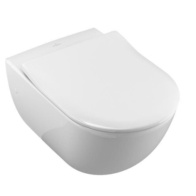 Villeroy Amp Boch Subway Wall Mounted Toilet Pan Uk Bathrooms