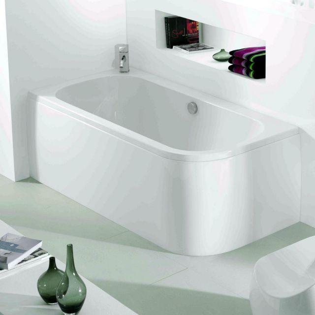 Adamsez Initial Single Ended Corner Bath