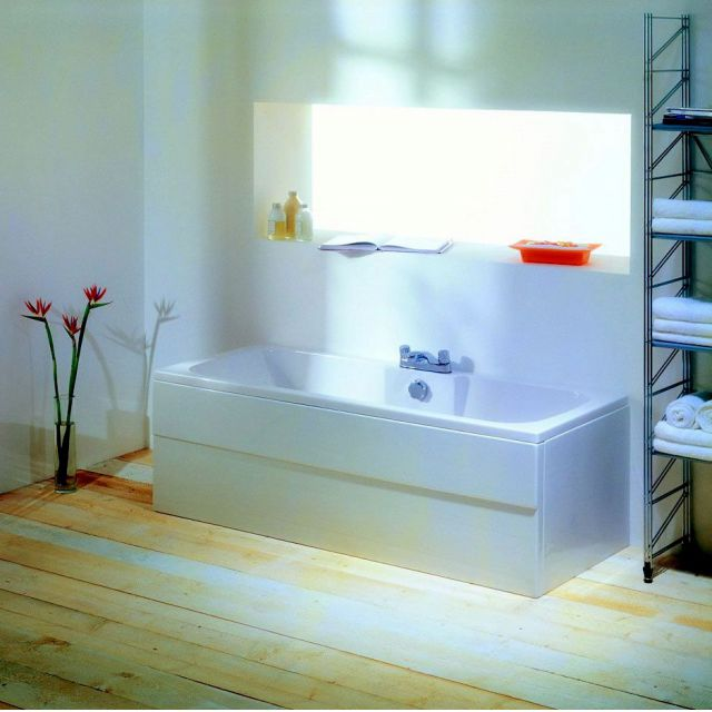 Adamsez Solar Contemporary Double Ended Bath
