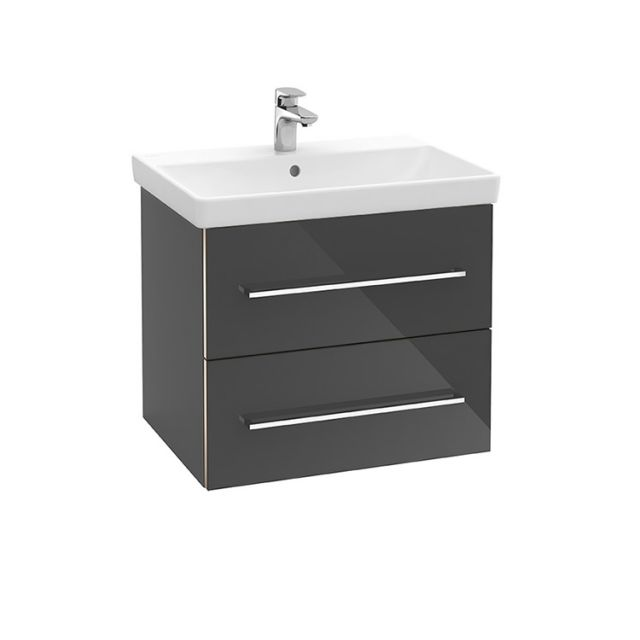 Villeroy and Boch Avento Two Drawer Vanity Washbasin Unit