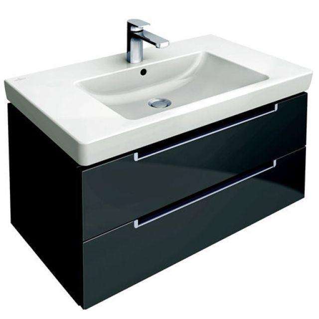 villeroy boch subway 2 0 vanity washbasin unit uk. Black Bedroom Furniture Sets. Home Design Ideas