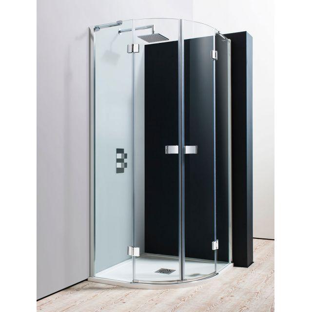Double Hinged Shower Door : Simpsons design quadrant double hinged shower door uk