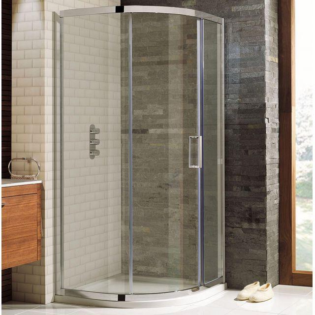Simpsons Elite Quadrant Single Door Shower Enclosure