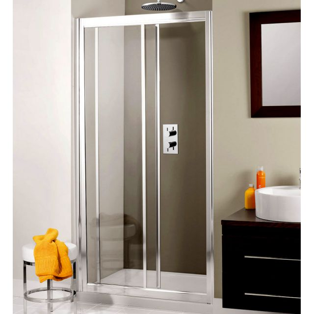 Crosswater (Simpsons) Supreme Single Slider Shower Enclosure