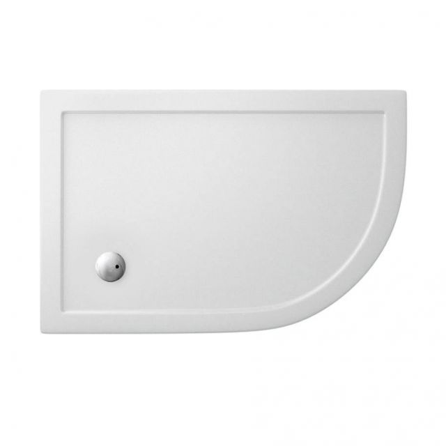 Crosswater (Simpson)s Offset Quadrant 35mm Acrylic Shower Tray