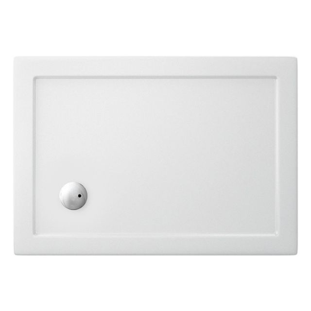 Simpsons Rectangular 35mm Acrylic Shower Tray with Corner Waste