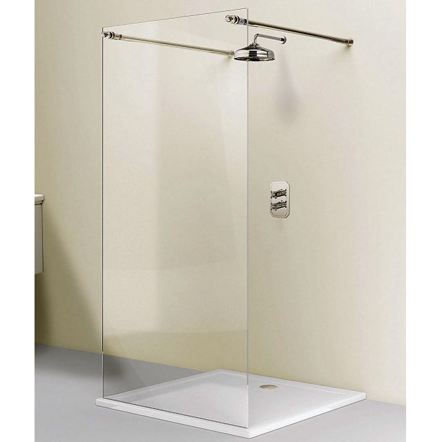Simpsons Arcade Single Fixed Shower Panel