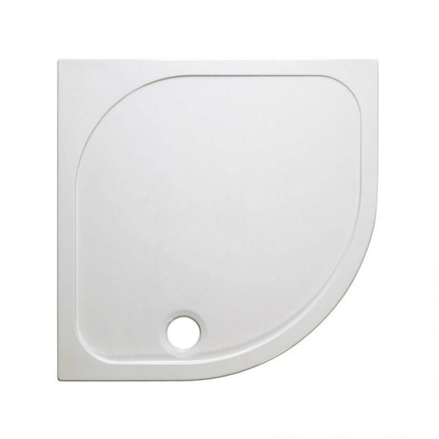 Simpsons Quadrant 45mm Stone Resin Shower Tray