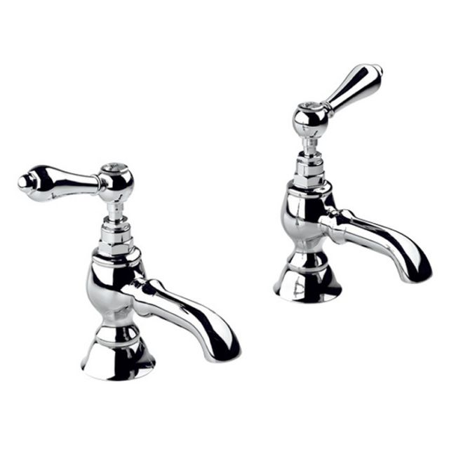 Imperial Regent Bath Pillar Taps