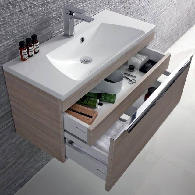Roper Rhodes Cypher Wall Hung Unit with Isocast Basin