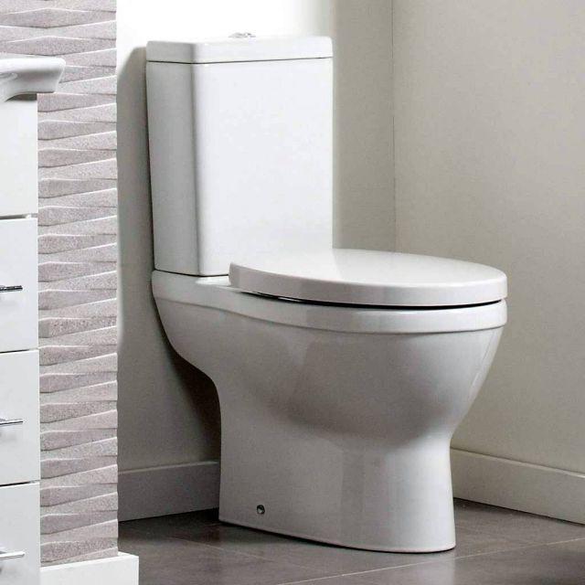 Roper Rhodes Minerva Close Coupled Toilet - MCCPAN