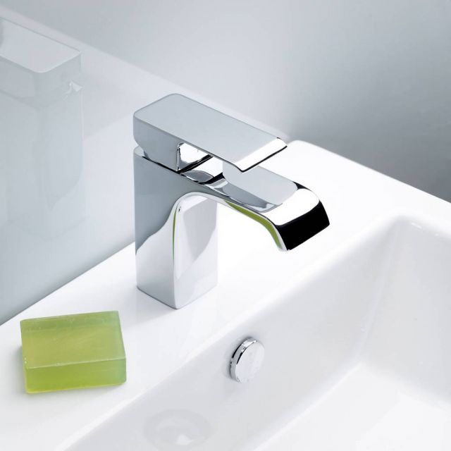Roper Rhodes Hydra Basin Mixer Tap with Click Waste