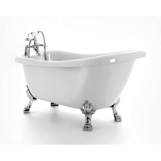 Royce Morgan Crystal 1680mm Freestanding Slipper Bath