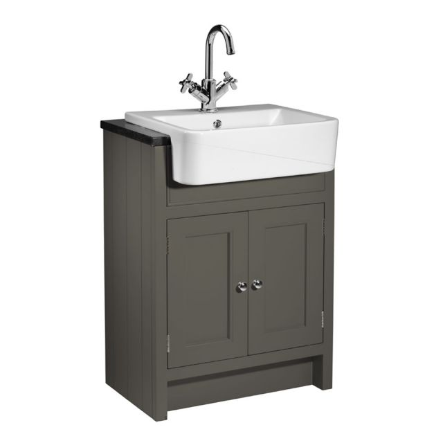 Roper Rhodes Hampton 600mm Semi-Countertop Unit and Geo Basin