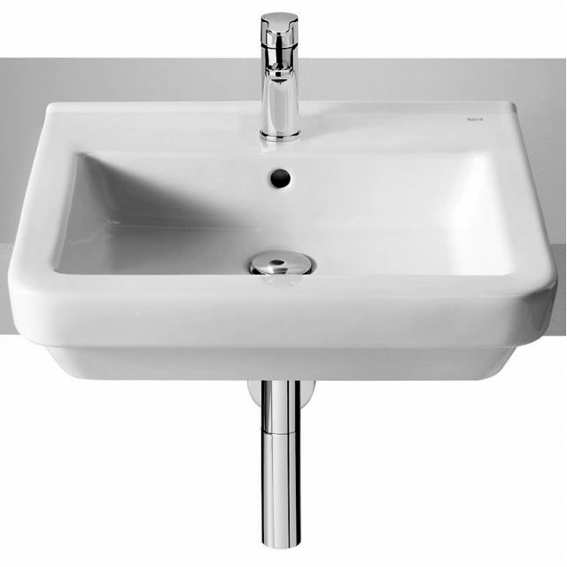 Roca Dama-N 520mm Semi-recessed Hand Basin