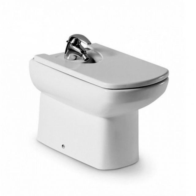 Roca Senso Compact Back to Wall Floorstanding Bidet