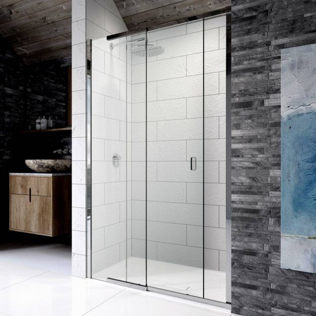 Kudos Pinnacle 8 Sliding Shower Door For Recess