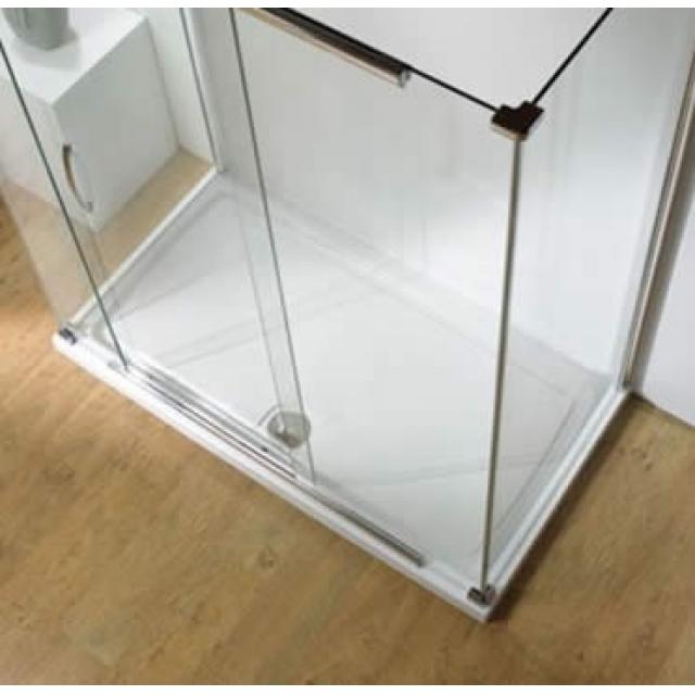 Kudos Rectangular Concept 2 Low Level Stone Resin Shower Tray & Waste