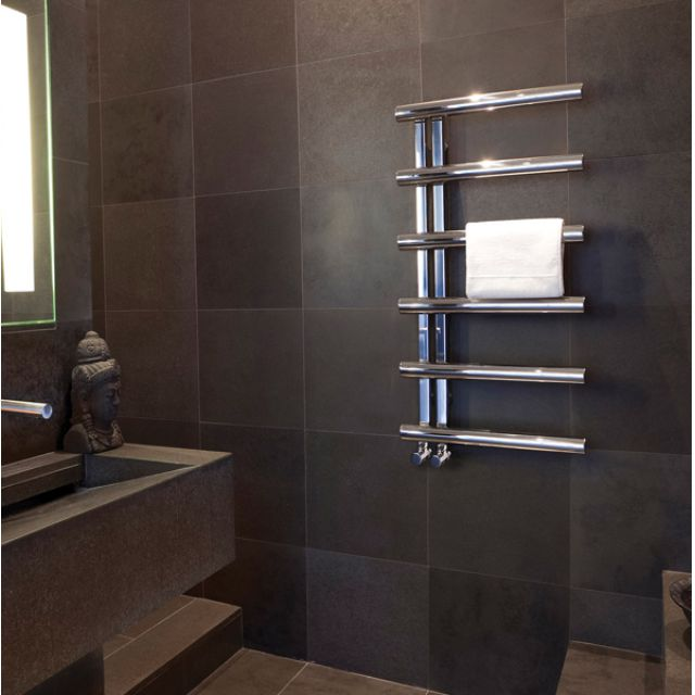 Bisque Chime Towel Radiator