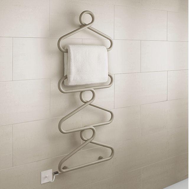 Bisque Archibald Electric Towel Radiator