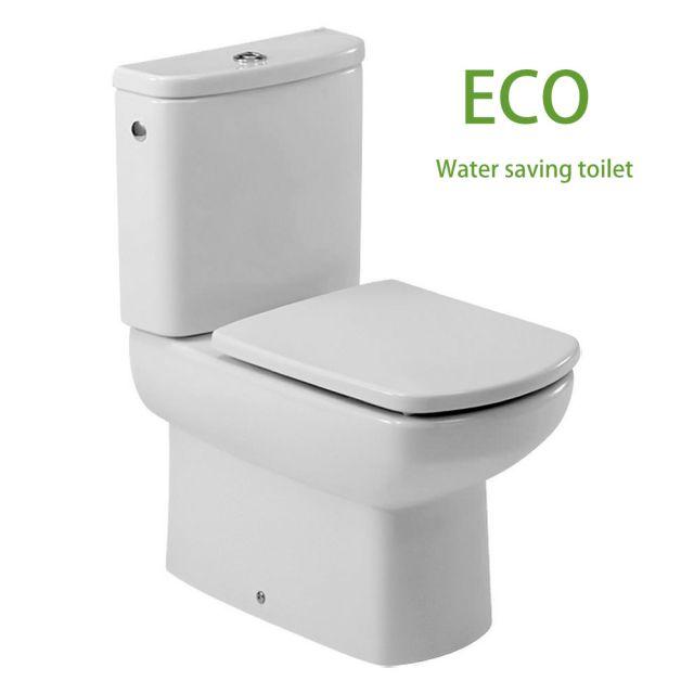 Roca Senso Compact ECO Close Coupled Toilet