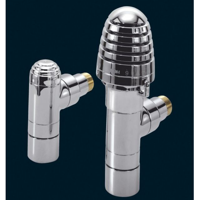 Bisque Thermostatic Valve Set H (Angled)