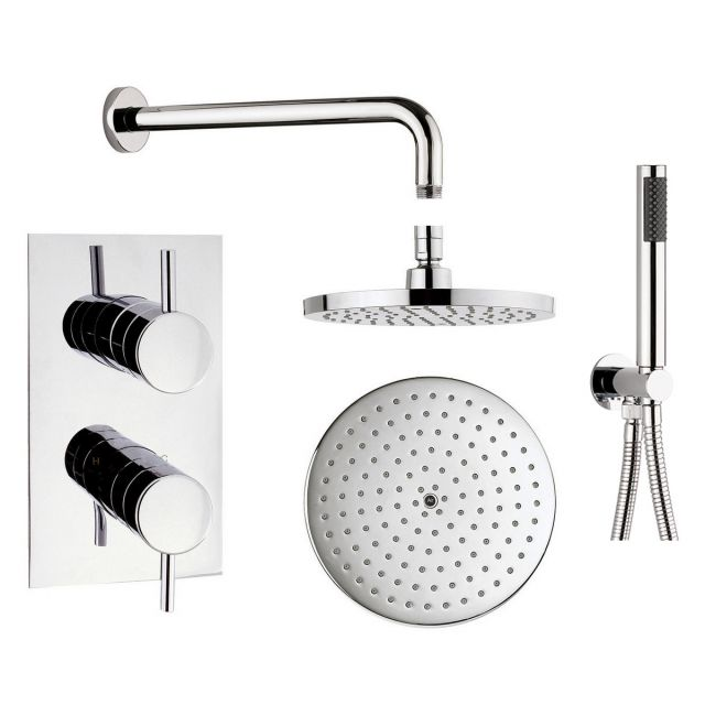 Origins Concealed Shower Valve with Fixed and Hand Held Shower