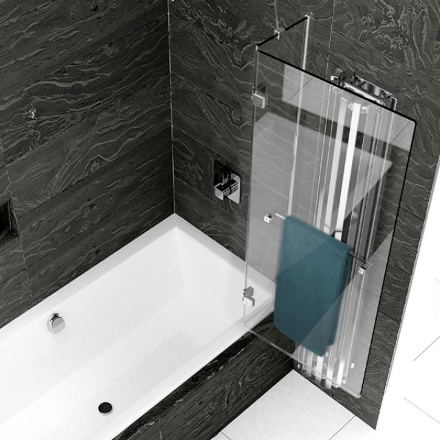 Kudos Inspire 2 Panel Out-Swing Bath Screen