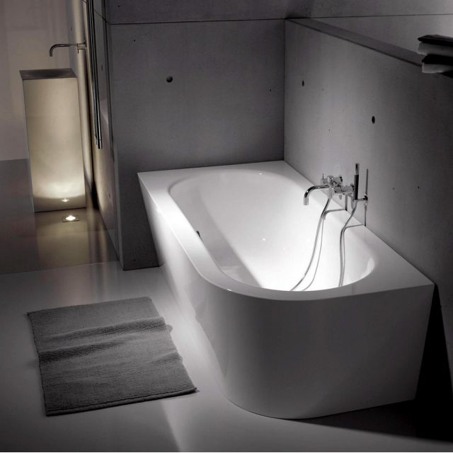 Bette Starlet IV Silhouette Steel Bath