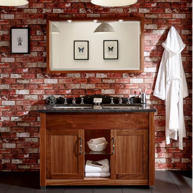 Imperial Radcliffe Westbury Twin Vanity Unit