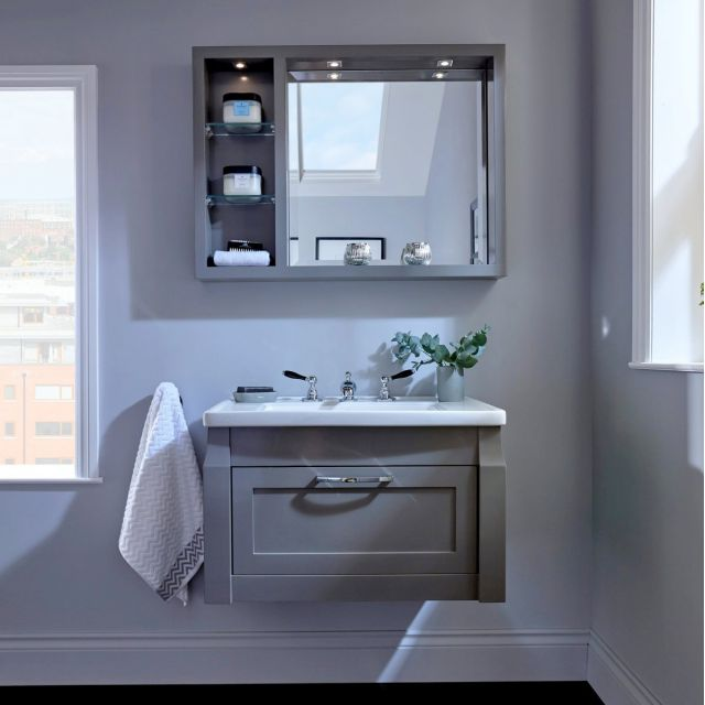 Imperial Westbury Wall-hung Vanity Unit with 1 Door