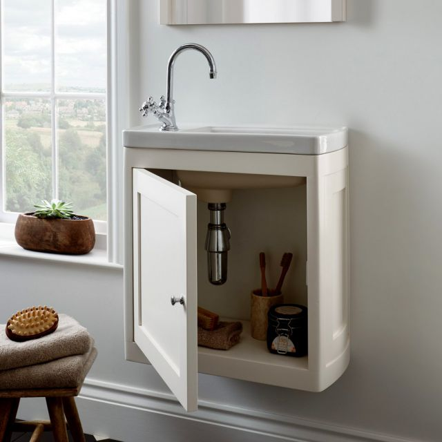 Imperial Carlyon Thurlestone 1 Door Cloak Vanity Unit