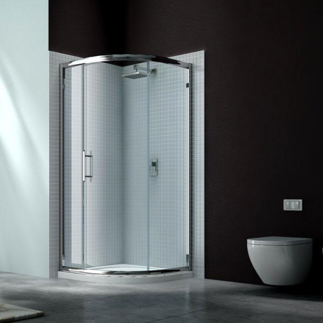 Merlyn Series 6 Single Door Quadrant Shower Door