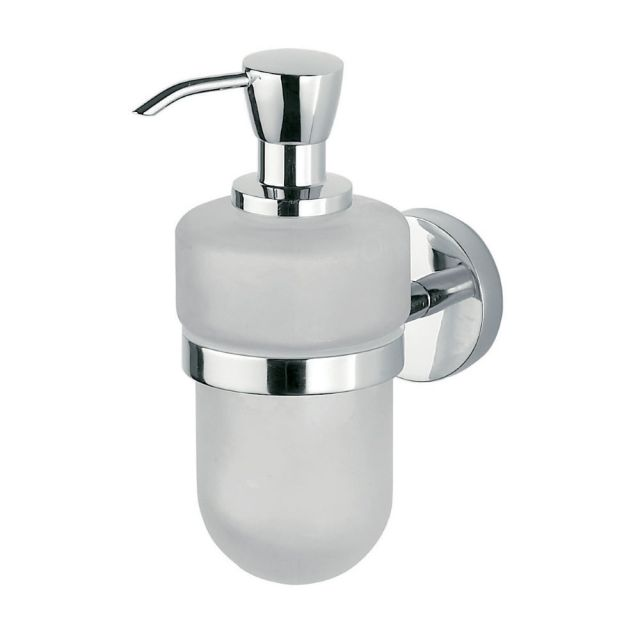 Inda Forum Wall mounted liquid soap dispenser 7 x 17h x 13cm