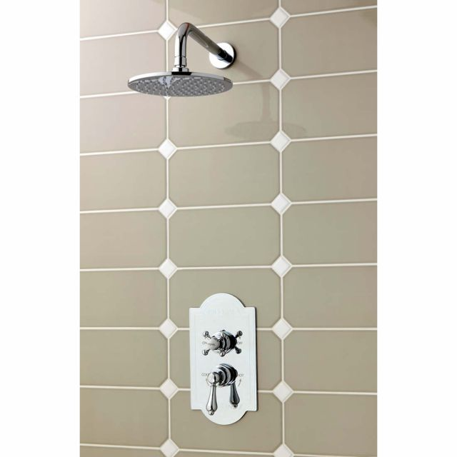 Imperial Amena Concealed Oxford Shower Kit with Amena Drench Head