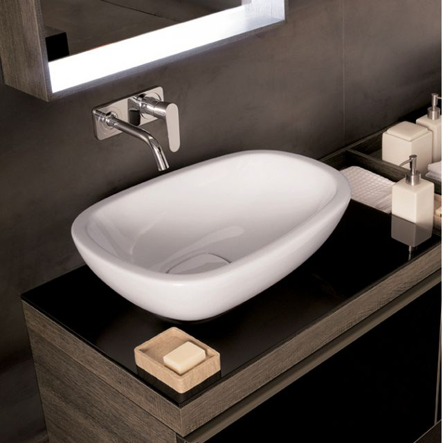 Geberit Citterio 560mm Lay-on Washbasin