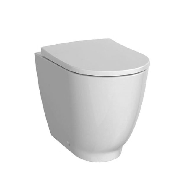 Geberit Acanto Raised Back to Wall Toilet