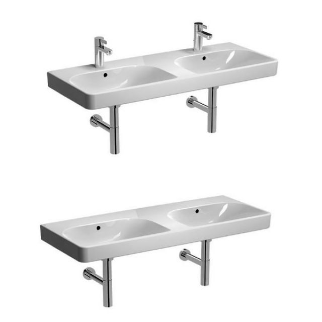 Geberit Smyle 120cm Double Washbasin