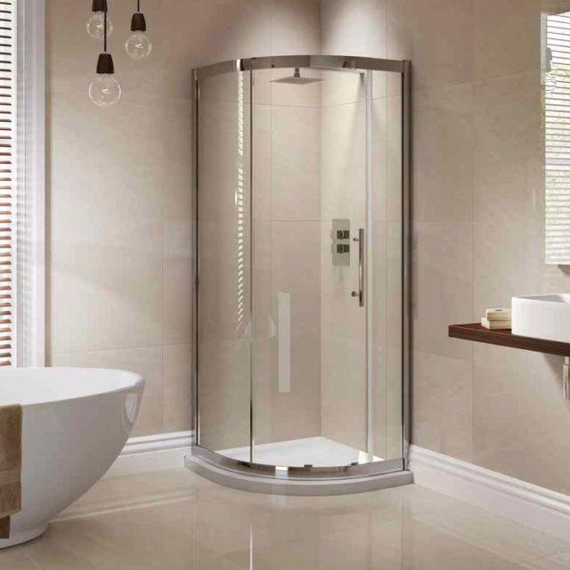 April Prestige Single Door Quadrant Shower Enclosure