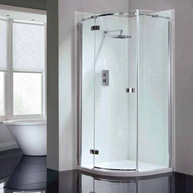 April Prestige Frameless Single Door Quadrant Shower Enclosure