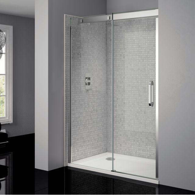 April Prestige Frameless Sliding Shower Door